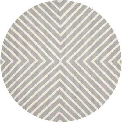 Paloma Silver & Ivory Area Rug - AllModern