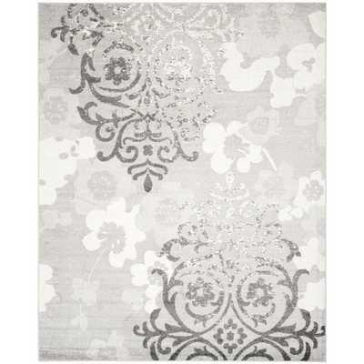 Safavieh Adirondack Silver/ Ivory Rug (5'1 x 7'6) - Overstock