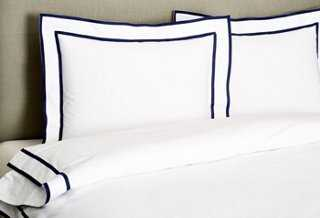 Collana Duvet Set, Navy - One Kings Lane