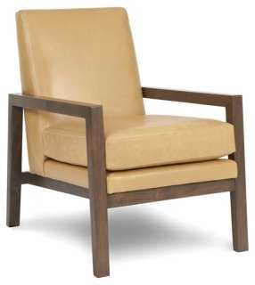 Lafayette Leather Chair - One Kings Lane