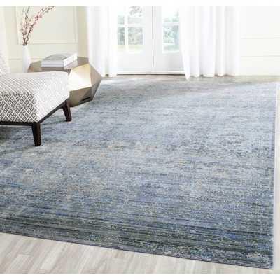 Safavieh Mystique Blue/ Multi Polyester Rug - Overstock