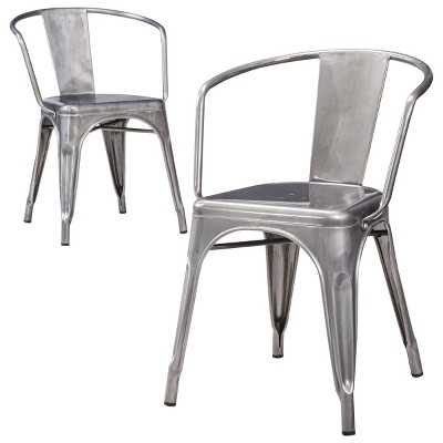 Carlisle Metal Dining Chair (Set of 2) - Target
