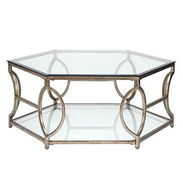 Brooke Hexagonal Coffee Table - Z Gallerie