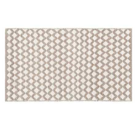 Diamond Wool Rug - Ivory - 8' x 10' - Pottery Barn