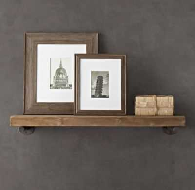 """Reclaimed Wood Wall Shelf-36"""" - RH"""