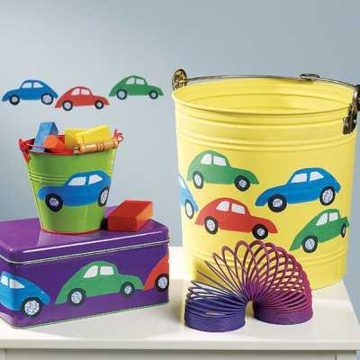 Buggy Cars Wall Decalby Wallies - Wayfair