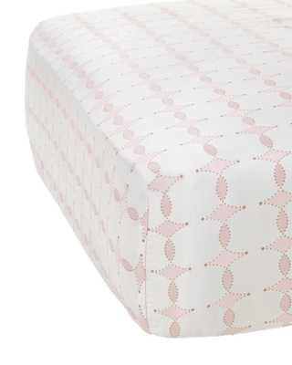 Scroll Crib Sheet - Serena and Lily