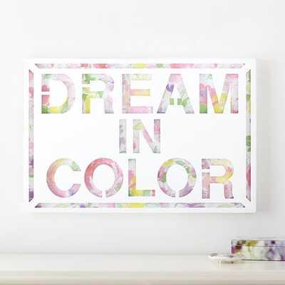 Dream in Color Wall Décor - Pottery Barn Teen