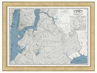 Historic Brooklyn Map - One Kings Lane