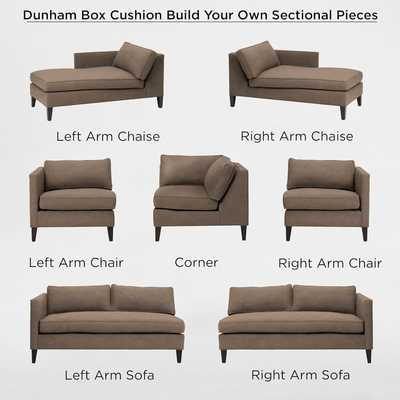 Right-Arm Sofa - West Elm