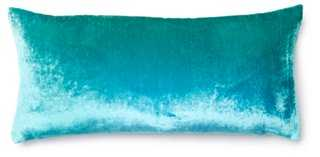 Ombré 7x15 Velvet Pillow - One Kings Lane