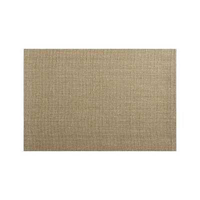 Sisal Almond 8'x10' Rug - Crate and Barrel