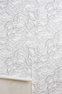 Layered Shale Wallpaper - Anthropologie