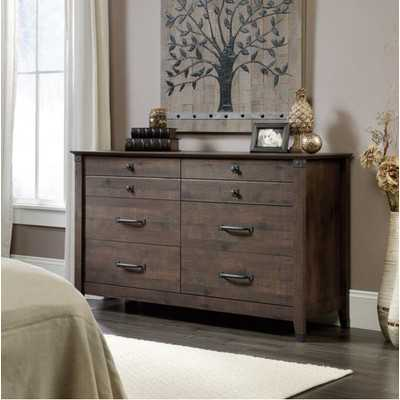 Carson Forge 6 Drawer Dresser - Coffee Oak - Wayfair