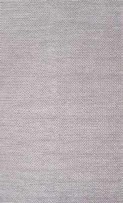 Textures Braided Rug - Light Grey - 8' x 10' - Rugs USA