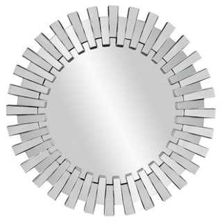 Modern Sunburst Mirror - One Kings Lane
