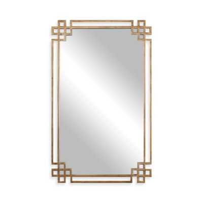 Uttermost 22.75-Inch x 37-Inch Devoll Rectangular Mirror in Antique Gold - Bed Bath & Beyond