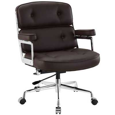REMIX OFFICE CHAIR IN BROWN - Modway Furniture