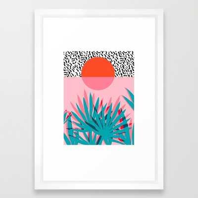 Whoa palm sunrise southwest california palm beach sun city - Framed - Society6