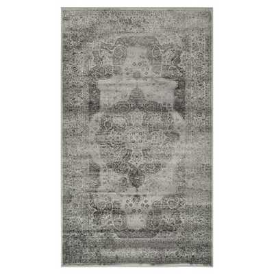 Safavieh Vintage Grey Area Rug - Wayfair