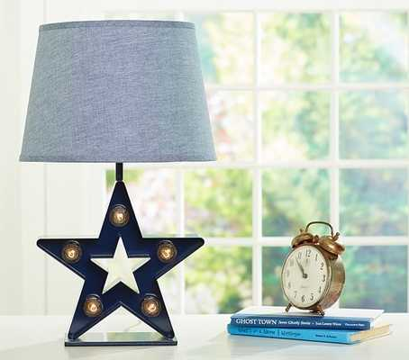 Marquee Star Complete Lamp- SHIPPING TO ALL OTHER STATES EXCEPT CA - Pottery Barn Kids