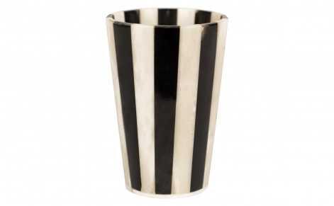 HORN & BONE STRIPE CUP - Jayson Home