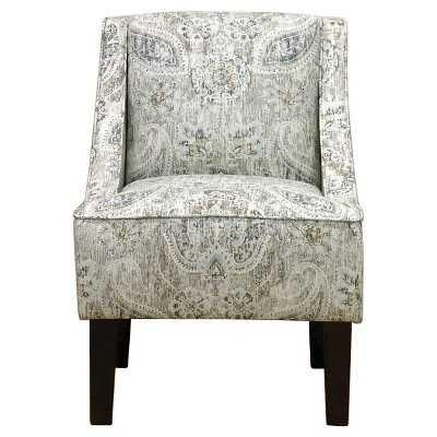 Hudson Swoop Arm Chair - Plazzo Beech - Target