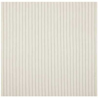 Reversible Dhurrie White Wool Rug - 6' Square - Overstock