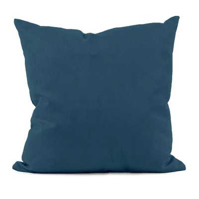 """Mary Throw Pillow - Moroccan Blue - 20"""" x 20"""" - Faux down insert - AllModern"""
