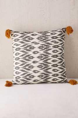 4040 Locust Salaya Ikat Woven Pillow - Urban Outfitters