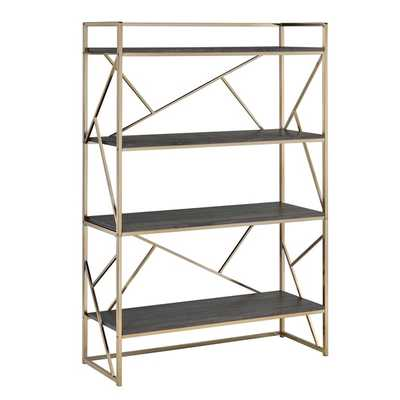 Furniture of America Nara Contemporary 4-Shelf Open Bookshelf - Overstock
