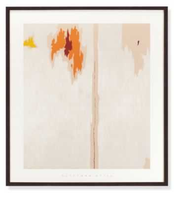 """Still, Untitled - 36""""w x 41""""h -Ebony frame - Room & Board"""