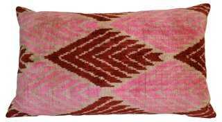 Pippa 16x24 Silk Pillow, insert - One Kings Lane