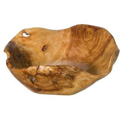 Natural Root Wood Bowl - Medium - Target