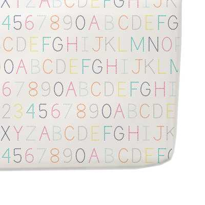 Petit Pehr Alphabet Crib Sheet - Giggle