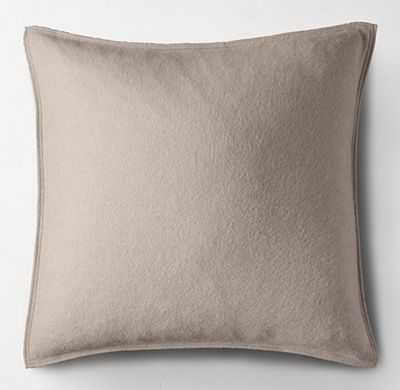CASHMERE PILLOW COVER - SQUARE - RH