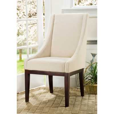 Safavieh Soho Creme Arm Chair Linen - Overstock