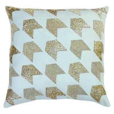 "Nate Berkusâ""¢ Silver Beaded Pillow - Target"