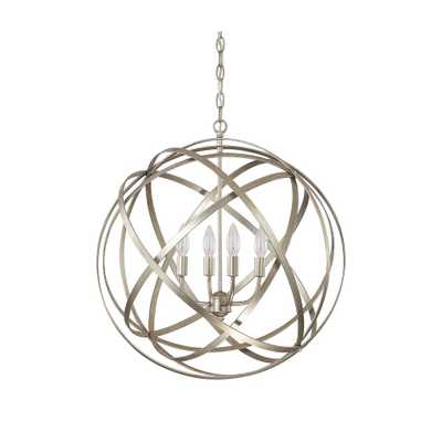 Capital Lighting Axis Collection 4-light Winter Gold Pendant - Overstock