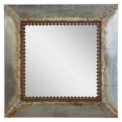 Square Metal Framed Mirror - Target
