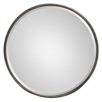 Uttermost Nova Burnished Gray Mirror - Bellacor