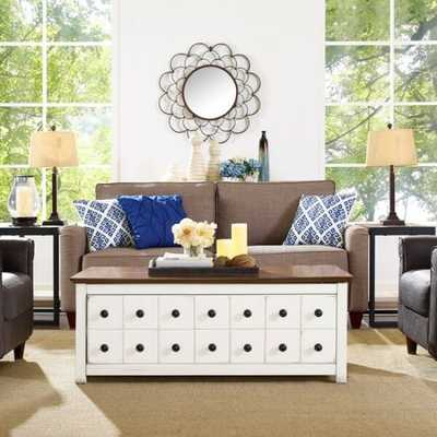 Crosley Furniture Bancroft Two Tone Coffee Table CF6109-WH - supply.com