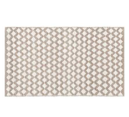 Diamond Wool Rug - Pottery Barn