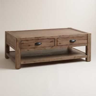Wood Quade Coffee Table - World Market/Cost Plus