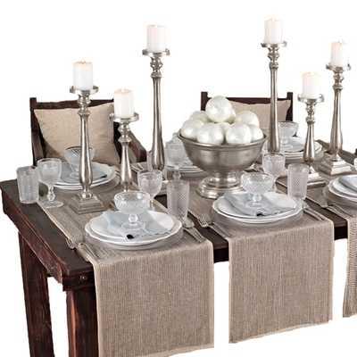 Beaded Design Table Runner - Overstock