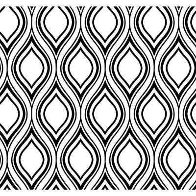Ogee Wallpaper - Home Depot
