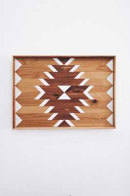 Natural Geo Wooden Wall Hanging - Etsy