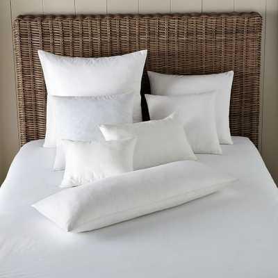 "Decorative Pillow Feather Inserts - 14""w x 26""l - White - West Elm"