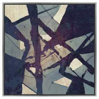 Blue Tangle-Framed - One Kings Lane