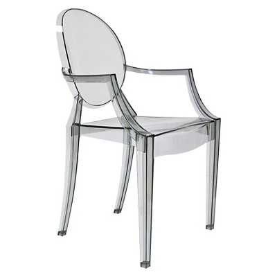 AEON Specter Polycarbonate Arm Chair (Set of 2) - Smoke - Target